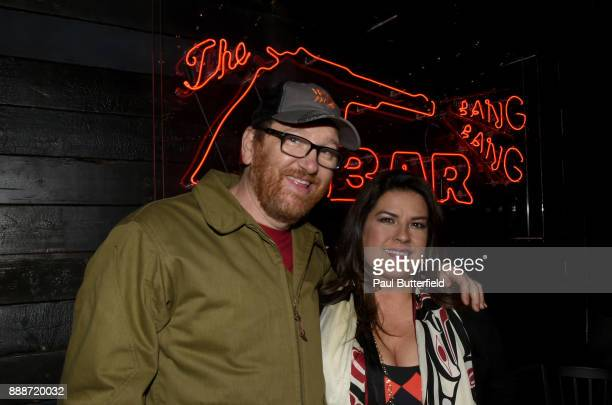 John Pirruccello and Rebekah Del Rio attend Showtime's 'Twin Peaks' Roadhouse Pop Up and Red Room Gift Shop on December 8 2017 in Los Angeles...