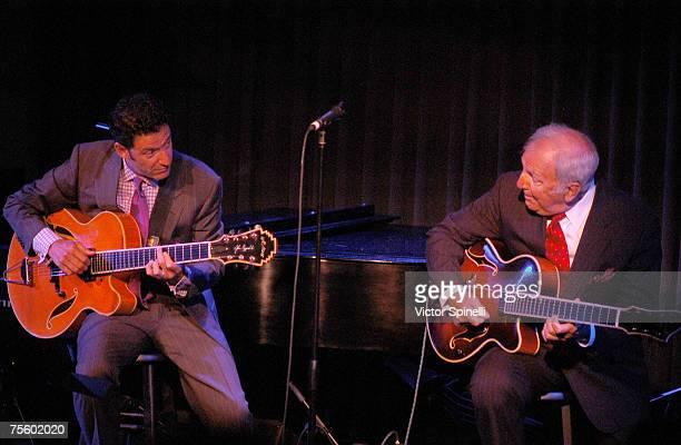LR John Pizzarelli and Bucky Pizzarelli