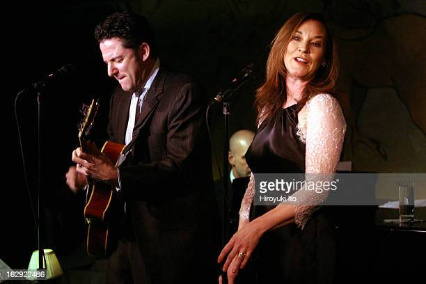 John Pizzarelli and Jessica Molaskey performing at the Cafe Carlyle on Tuesday night May 1 2007