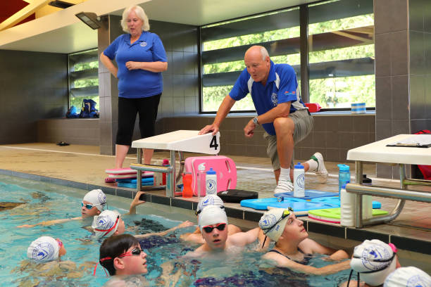 GBR: Adam Peaty's Olympic Gold Medal is Celebrated by Dove Valley Swimming Club