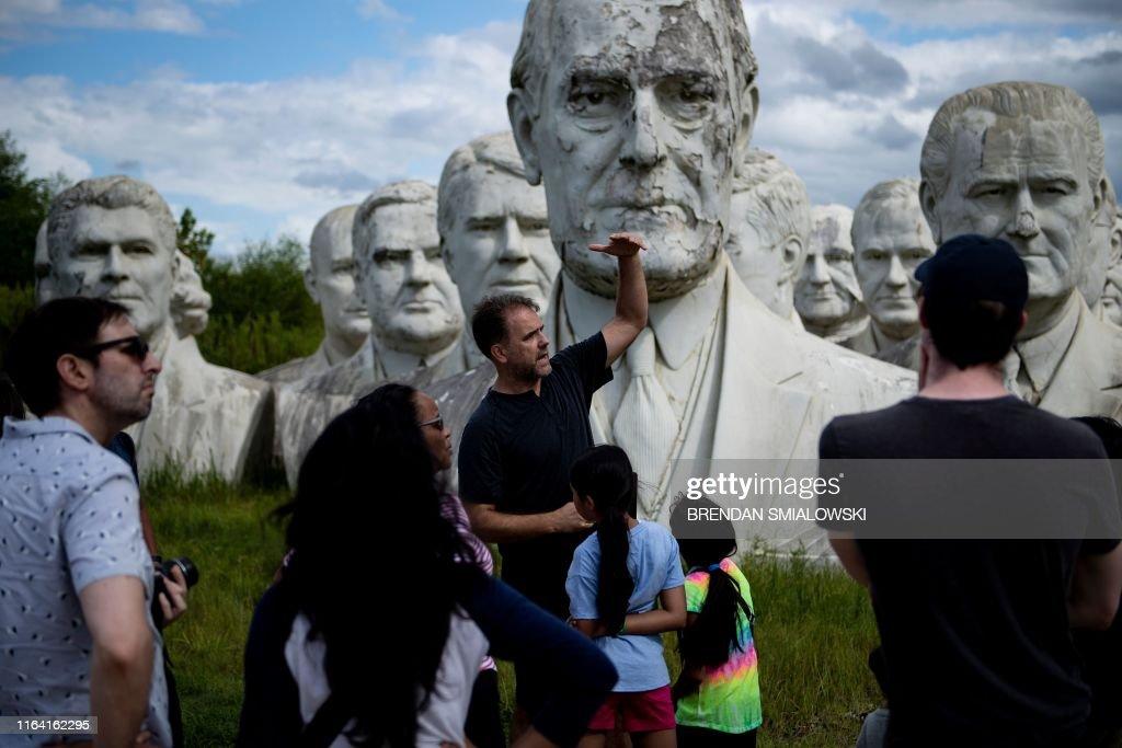 US-LIFESTYLE-PRESIDENTS PARK : News Photo