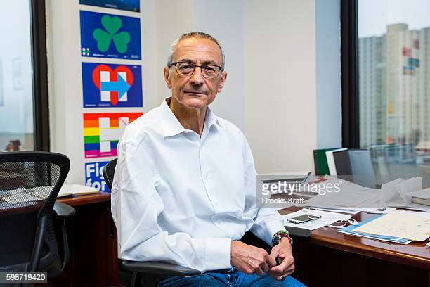 John Podesta Campaign Chairman for Democratic presidential candidate Hillary Clinton June 28 2016 in Brooklyn NY
