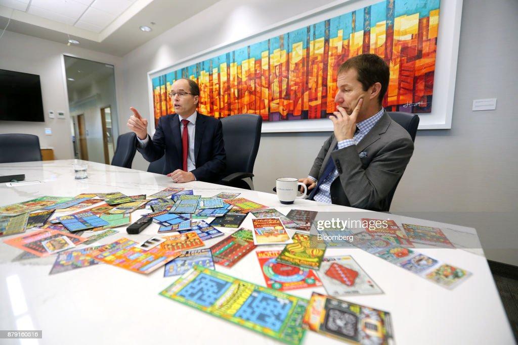 Pollard Banknote Co-Chief Executive Officers John Pollard And Doug Pollard Interview : News Photo