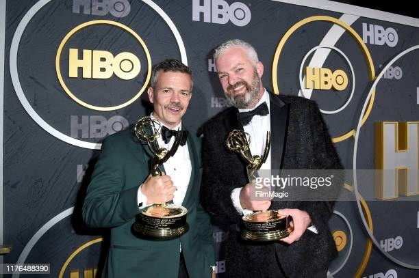 John Polly and Bruce McCoy attend HBO's Official 2019 Emmy After Party on September 22, 2019 in Los Angeles, California.