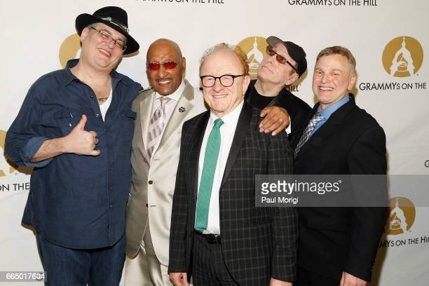 John Popper Duke Fakir Peter Asher Rick Nielsen and Jonathan Wolff at The Recording Academy®'s 2017 GRAMMYs on the Hill® Awards on April 5 to honor...