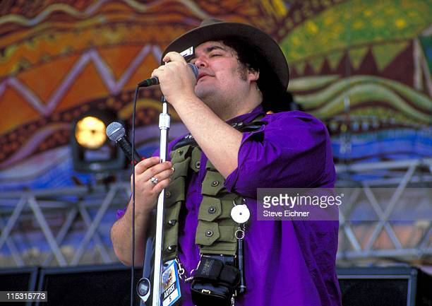 John Popper of Blues Traveler during Woodstock '94 in Saugerties, New York - August 1994 in Saugerties, New York, United States.