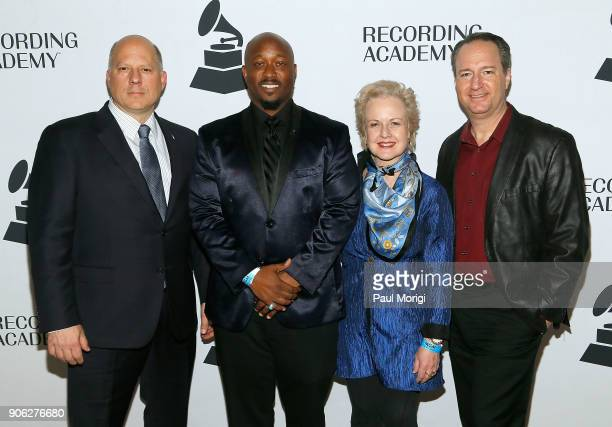John Poppo Jeriel Johnson Ruby Marchand and Daryl Friedman of The Recording Academy attend The Washington DC Chapter of The Recording Academy's 20th...