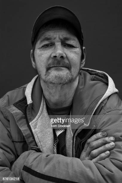 John poses for a picture on October 26, 2017 in Newcastle upon Tyne, England. John says 'Maybe Universal Credit might be a good thing. I dont know....