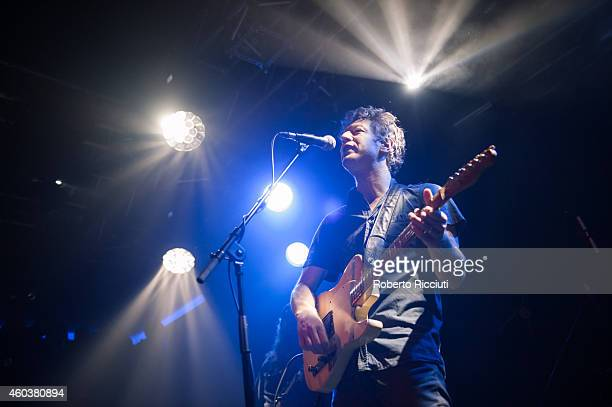 John Power of Cast performs on stage at The Liquid Room on December 12 2014 in Edinburgh United Kingdom