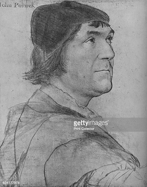 John Poyntz', c1532-1543 . John Poyntz was an English courtier and politician, Member of Parliament for Devizes in 1529. The drawing is part of the...