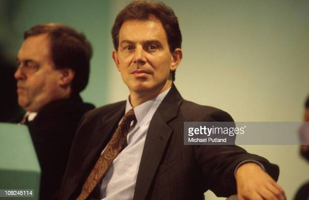 John Prescott and Tony Blair at the Labour Party Conference Blackpool 1994