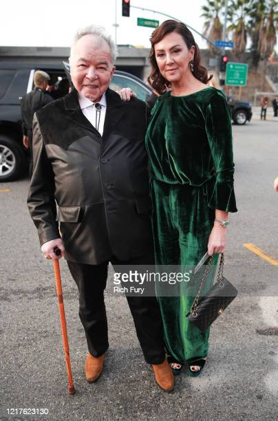 John Prine and Fiona Whelan Prine attend the 62nd Annual GRAMMY Awards at STAPLES Center on January 26, 2020 in Los Angeles, California.