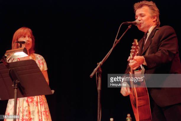 John Prine and Iris DeMent performing at Town Hall on Thursday night September 16 1999