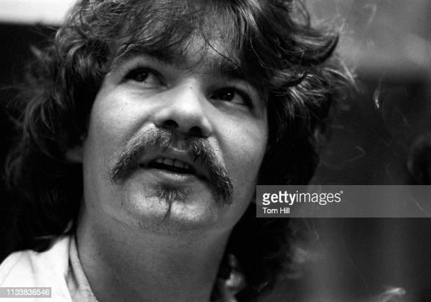John Prine is interviewed live on WRAS-FM at Georgia State College on November 12, 1975 in Atlanta, Georgia.