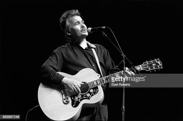 John Prine performing at the Beacon Theatre in New York City on November 12, 1993.