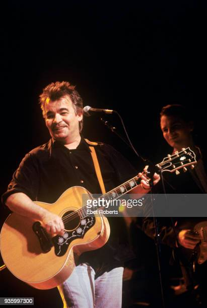 John Prine performing at the Beacon Theatre in New York City on September 23 1995