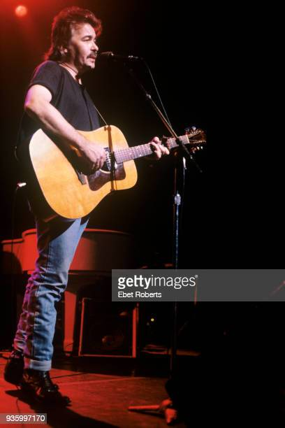 John Prine performing at the Beacon Theatre in New York City on October 28 1989