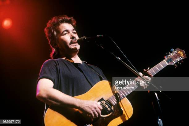 John Prine performing at the Beacon Theatre in New York City on October 28, 1989.