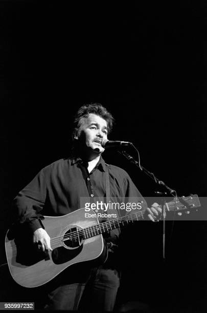 John Prine performing at the Beacon Theatre in New York City on April 2 1992