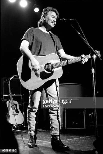 John Prine performing at The Ritz in New York City on October 28 1989