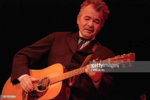John Prine performing at Town Hall on Thursday night, September 16, 1999.
