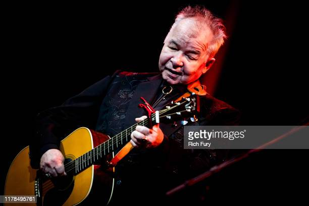 John Prine performs at John Anson Ford Amphitheatre on October 01 2019 in Hollywood California