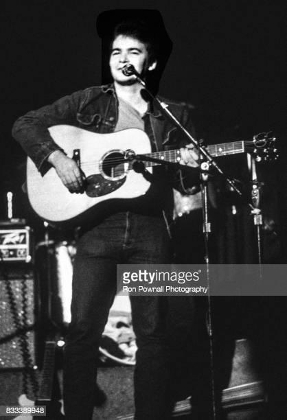 John Prine performs at The Telagi music club in October 1972 in Boulder Colorado