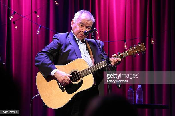 John Prine performs during Up Close and Personal: John Prine & Sturgill Simpson at The GRAMMY Museum on June 21, 2016 in Los Angeles, California.