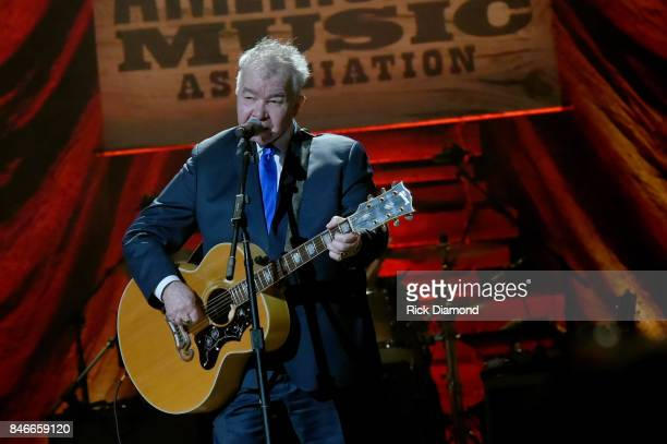 John Prine performs onstage during the 2017 Americana Music Association Honors Awards on September 13 2017 in Nashville Tennessee