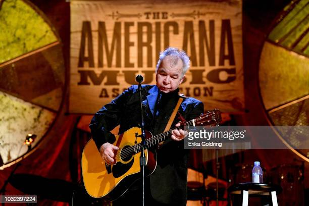 John Prine performs onstage during the 2018 Americana Music Honors and Awards at Ryman Auditorium on September 12, 2018 in Nashville, Tennessee.
