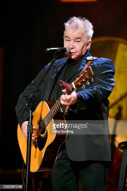 John Prine performs onstage during the 2018 Americana Music Honors and Awards at Ryman Auditorium on September 12 2018 in Nashville Tennessee