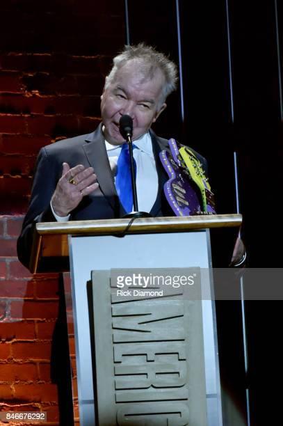 John Prine speaks onstage during the 2017 Americana Music Association Honors Awards on September 13 2017 in Nashville Tennessee