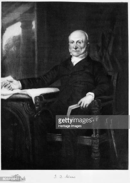 John Quincy Adams, 6th President of the United States of America, . Adams was President of the United States from 1825 until 1829. He was one of the...