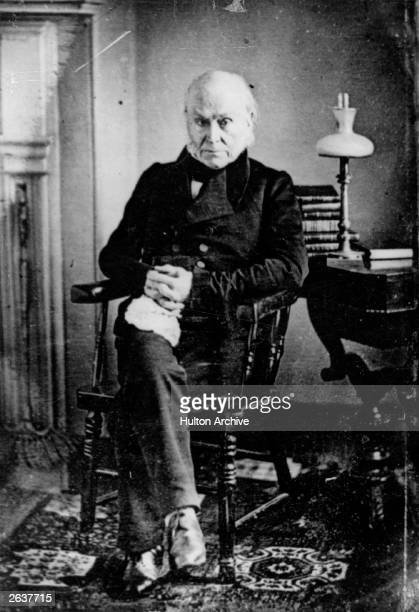 John Quincy Adams the 6th President of the United States of America and the son of John Adams the 2nd President of the United States