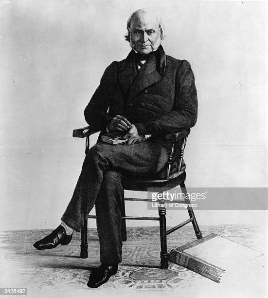 John Quincy Adams the 6th President of the United States of America and the son of John Adams the 2nd President of the United States Original Artwork...