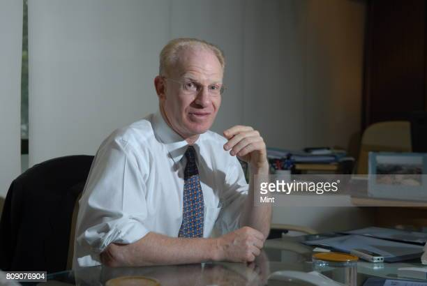 John R Adler Dorothy TK Chan Professor of Neurosurgery at Stanford University School of Medicine photographed during an interview with Mint