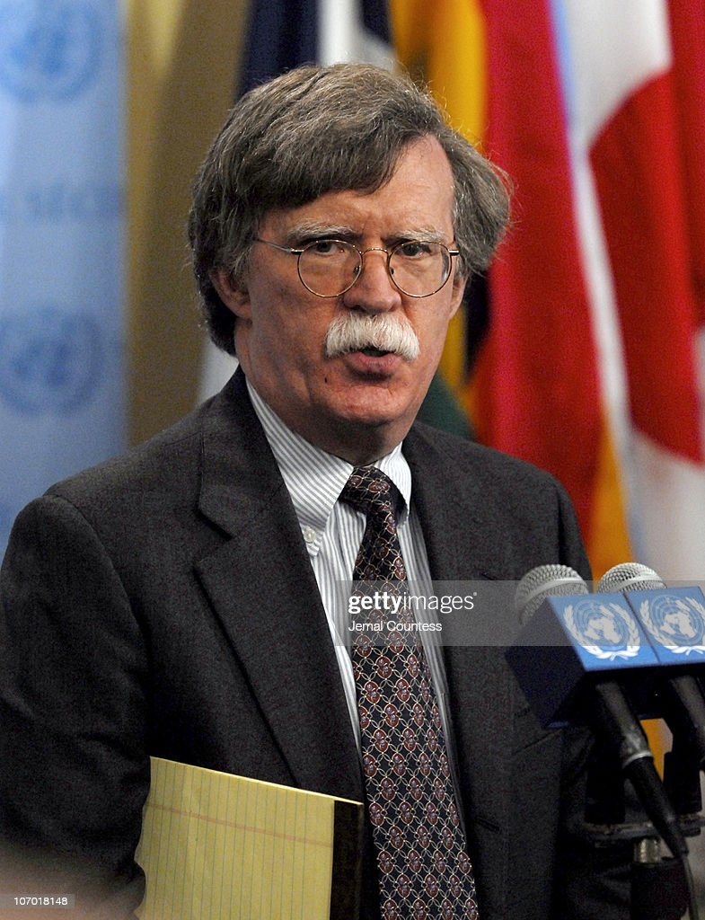 John R. Bolton, UN Ambassador and U.S. Representative to the United Nations