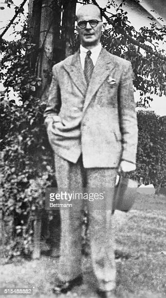 John R Christie convicted for the slaying of his wife and six women who forced their love on me appears rather jaunty in this picture Actually a...