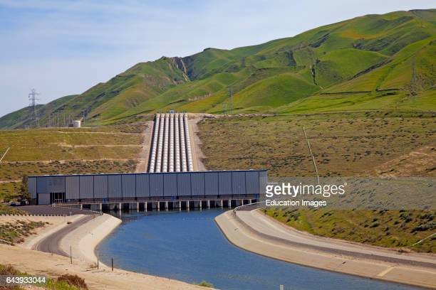 John R Teerink Wheeler Ridge Pumping Plant part of the California State Water Project is located at the southern end of the San Joaquin Valley and...