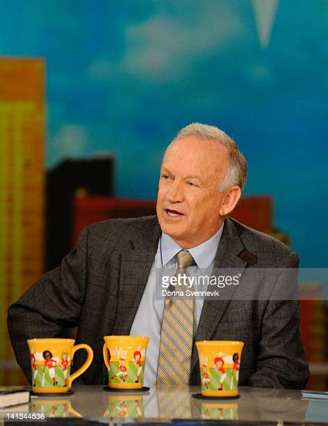 THE VIEW John Ramsey the father of JonBenet Ramsey discusses his new book on THE VIEW 3/14/12 airing on the Walt Disney Television via Getty Images...