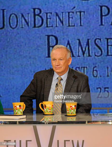 THE VIEW John Ramsey the father of JonBenet Ramsey discusses his new book on 'THE VIEW' 3/14/12 airing on the ABC Television Network RAMSEY