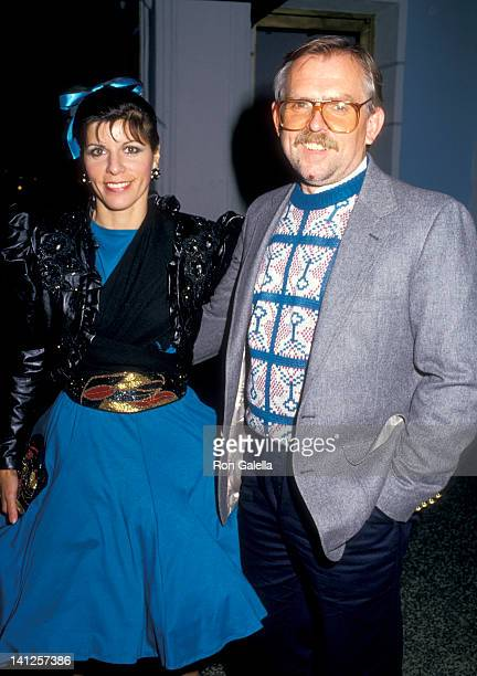 John Ratzenberger and Georgia Stiny at the Premiere of 'Some Kind of Wonderful', Mann's Chinese Theatre, Hollywood.