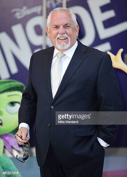 John Ratzenberger attends the UK Gala Screening of 'Inside Out' at Odeon Leicester Square on July 19 2015 in London England