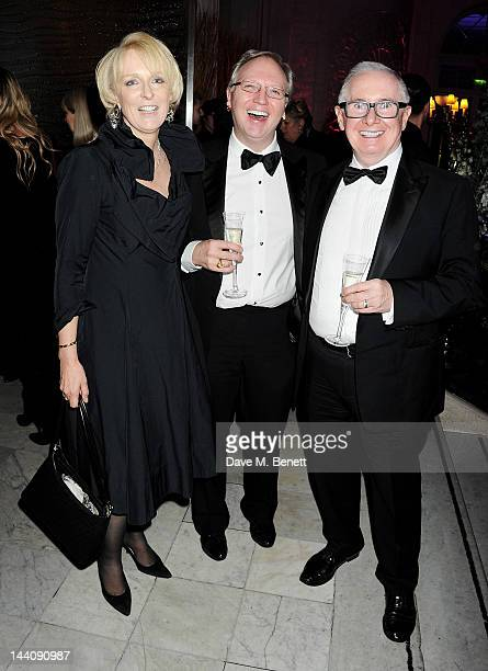 John Reid and guests attend an after party celebrating the press night performance of 'Top Hat' at The Waldorf Hilton Hotel on May 9 2012 in London...