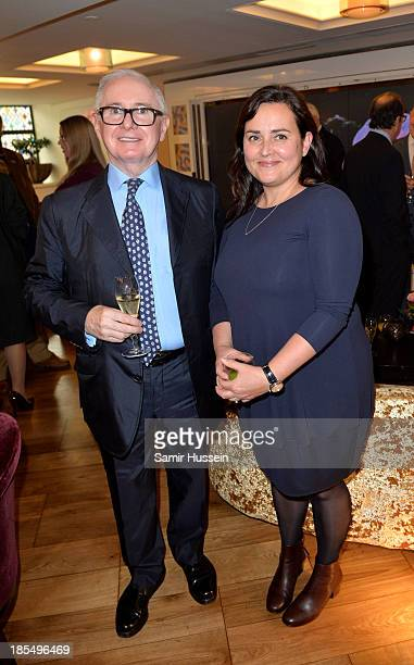 John Reid and Lindsay Branagh attend NYT tribute to legendary director and president of the National Youth Theatre from 1983 to 2005 Bryan Forbes at...
