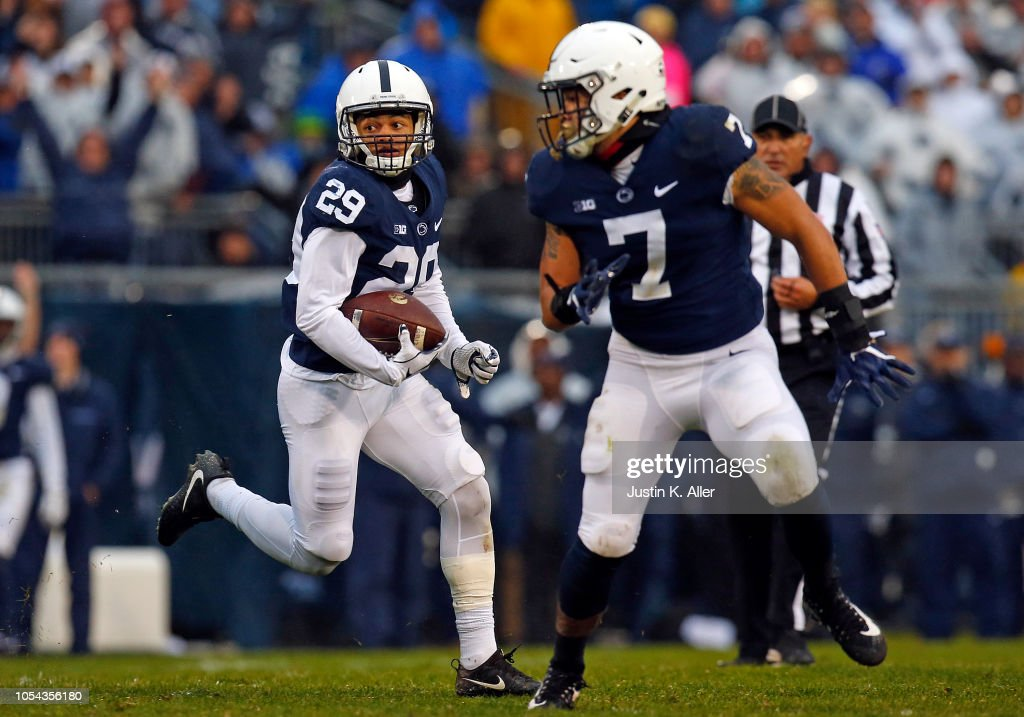 Iowa v Penn State : News Photo