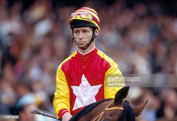 John Reid on Tony Bin winners of the Prix de l'Arc de Triomphe at Longchamp on 2nd October 1988