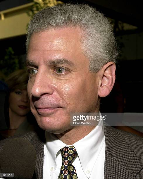 John Reiner an attorney and defendant in the Erin Brockovich Extortion case declines comments May 10 2000 after his arraingment at the Ventura County...