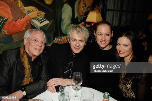 John Reinhold Nick Rhodes Amy Sacco and Georgina Chapman attend THE CINEMA SOCIETY BING host the after party for 'A SINGLE MAN' at Monkey Bar on...