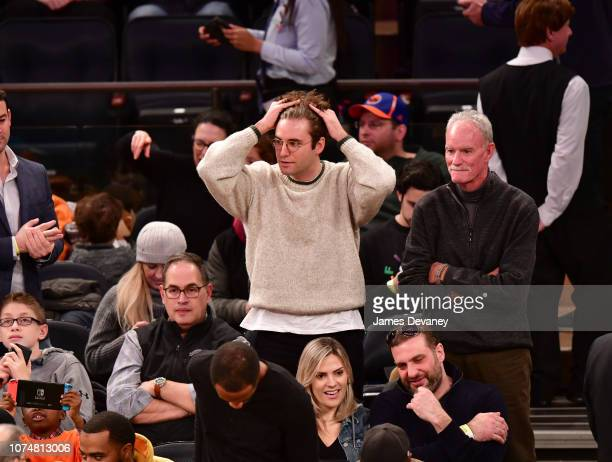 John Reynolds attends the Milwaukee Bucks v New York Knicks game at Madison Square Garden on December 25 2018 in New York City